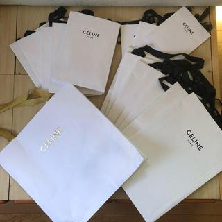 セリーヌ(celine)のCELINE ショッパー袋 各種サイズ有 バラ売り・まとめ売り コメントください(ショップ袋)