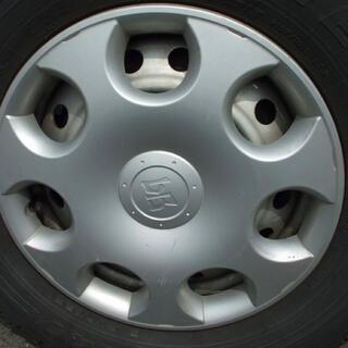 トヨタ(トヨタ)の旧型トヨタbB ホイールキャップ4個セット(ホイール)