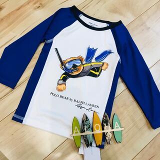 ポロラルフローレン(POLO RALPH LAUREN)の新品 タグ付き polo ラルフローレン ラッシュガード 24M(水着)
