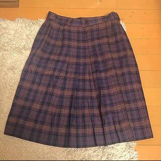 クリスチャンディオール(Christian Dior)のディオール チェック スカート(ひざ丈スカート)