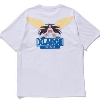 XLARGE - サイズXL XLARGE サマーウォーズ Tシャツ 夏希 ホワイト 白