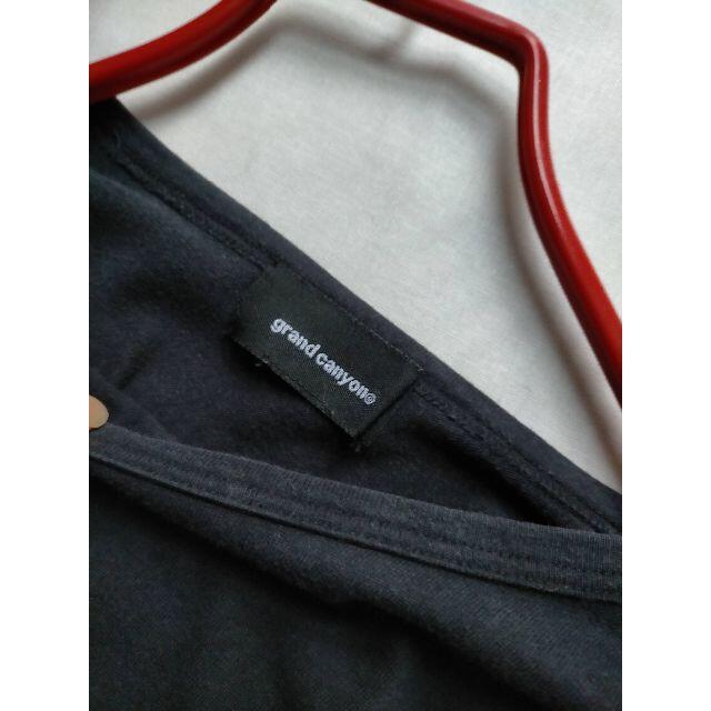 GDC(ジーディーシー)のGDC Grand Canyon 初期もの MoscowロングTシャツ熊谷隆志氏 メンズのトップス(Tシャツ/カットソー(七分/長袖))の商品写真