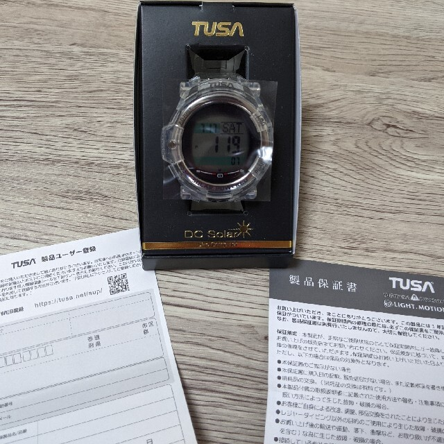 TUSA(ツサ)のTUSA ダイブコンピューターIQ1204 スポーツ/アウトドアのスポーツ/アウトドア その他(マリン/スイミング)の商品写真