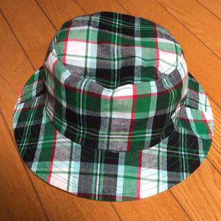 ムジルシリョウヒン(MUJI (無印良品))の【美品】無印良品 キッズ 帽子 リバーシブル 48センチ(帽子)