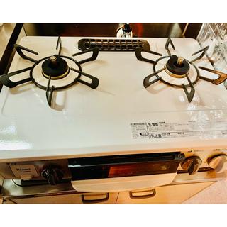 リンナイ(Rinnai)の美品リンナイ ガスコンロ 2020年製 ガステーブル プロパンガス(ガスレンジ)
