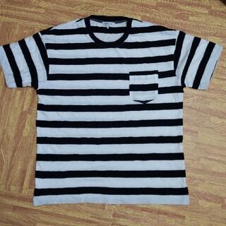 グローバルワーク(GLOBAL WORK)のグローバルワーク ボーダーTシャツ L(Tシャツ/カットソー(半袖/袖なし))
