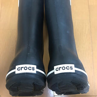 クロックス(crocs)のcrocs レインブーツ 長靴(レインブーツ/長靴)