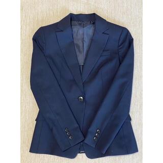 コムサイズム(COMME CA ISM)のCOMME CA ISM 紺色パンツスーツ(スーツ)