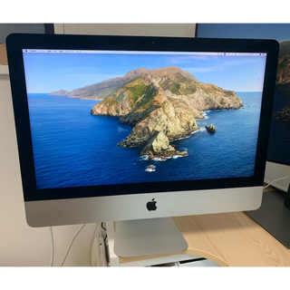 Mac (Apple) - iMac 2015 21.5インチ Retina 4Kモデル MK452J/A