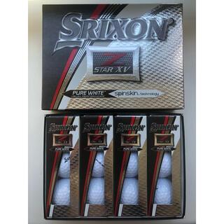 スリクソン(Srixon)のスリクソン Z-STAR XV 2017年モデル 1ダース 12個 US仕様(ゴルフ)
