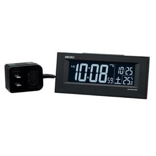 SEIKO - 【新品】SEIKO 置時計 デジタル時計 DL209K