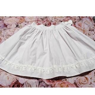 アンクルージュ(Ank Rouge)のAnk Rouge♥リズリサ♥夢展望♥ピンク♥リボン♥スカート(ミニスカート)