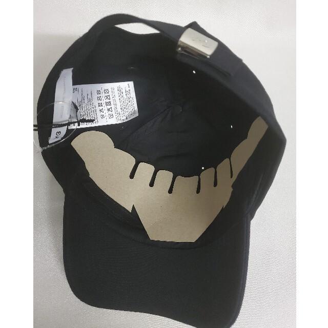Y-3(ワイスリー)のY―3 ブラック ロゴキャップ メンズの帽子(キャップ)の商品写真