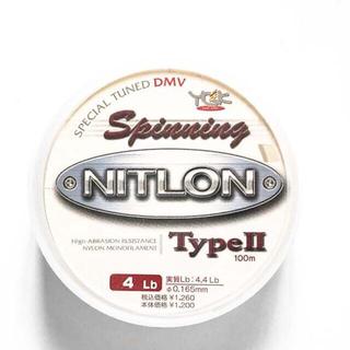 よつあみ ニトロン タイプ2 スピニング 4LB 100m ライン ナイロン(釣り糸/ライン)