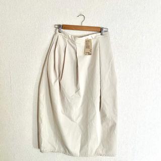 ムジルシリョウヒン(MUJI (無印良品))の無印 撥水ストレッチチノ バルーンスカート(ロングスカート)