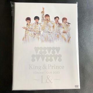 Johnny's - 【美品】King&PrinceCONCERT TOUR 2020 ~L&~初回盤