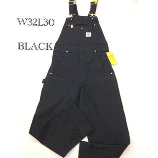 カーハート(carhartt)のカーハート オーバーオール 黒 W32/30 US規格(サロペット/オーバーオール)