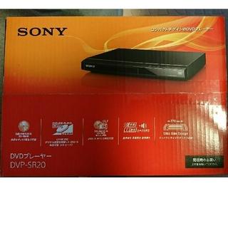 SONY - SONY  DVDプレーヤー  DVP-SR20 新品未使用  未開封