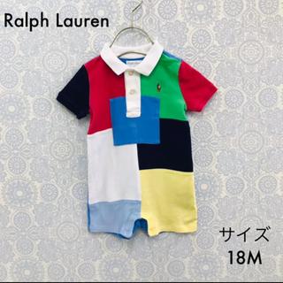 ラルフローレン(Ralph Lauren)のラルフローレン 半袖 切替 ロンパース 18M Ralph Lauren(その他)