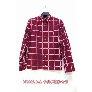 Needles - 【良品】ノーマ t.d. ウィンドウペンシャツ NOMA t.d.