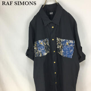 ラフシモンズ(RAF SIMONS)のRAF SIMONS ラフバイ ラフシモンズ  半袖 デザインシャツ メンズ(Tシャツ/カットソー(半袖/袖なし))