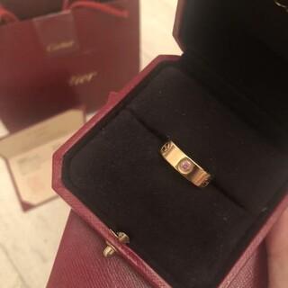 Cartier - Cartier♡ラブリング♡ピンクサファイア♡ピンクゴールド♡