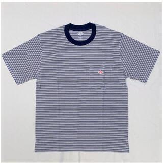 ダントン(DANTON)のDANTON(ダントン)マルチボーダー半袖Tシャツ  [JD-9041-MNS](Tシャツ/カットソー(半袖/袖なし))