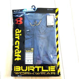 バートル(BURTLE)の※新品未使用 バートル  エアークラフト 3L半袖 AC7146 インディゴ (ベスト)
