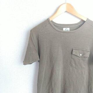 ニードルス(Needles)のNEEDLES 半袖カットソー カーキ ニードルス 夏物(Tシャツ/カットソー(半袖/袖なし))