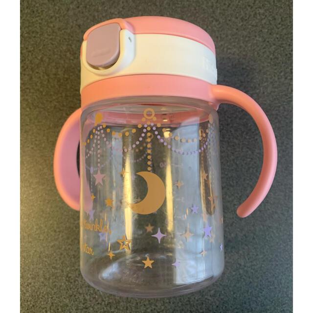 Richell(リッチェル)のリッチェル Richell アクリア おでかけストローマグ 200ml ピンク キッズ/ベビー/マタニティの授乳/お食事用品(マグカップ)の商品写真