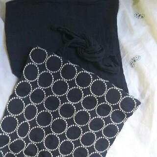 ミナペルホネン(mina perhonen)のギャルリもも草xtambourineサロンスカート(ひざ丈スカート)