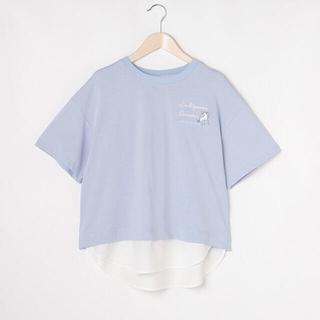 mezzo piano junior - メゾピアノ新品新作タグ付き【接触冷感】裾レイヤード半袖Tシャツ150