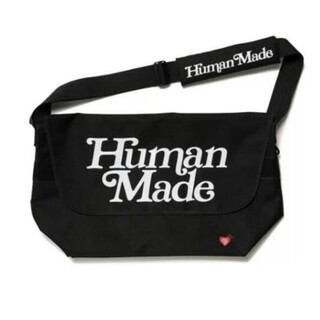 Girls don't cry × human made メッセンジャーバッグ