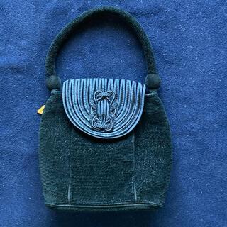 フェイラー(FEILER)のFEILER布製フォーマルバッグ黒色(ハンドバッグ)