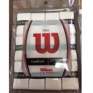 wilson - テニス バドミントン グリップテープ ウィルソン プロ オーバーグリップ 12本