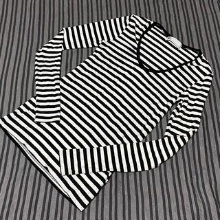 スライ(SLY)のスライ⭐︎ロング丈ロンTシャツ⭐︎ボーダー 強ストレッチ!(Tシャツ(長袖/七分))