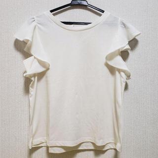 フーズフーチコ(who's who Chico)のフーズフーチコ  Tシャツ フレアスリーブ バックリボン(Tシャツ(半袖/袖なし))