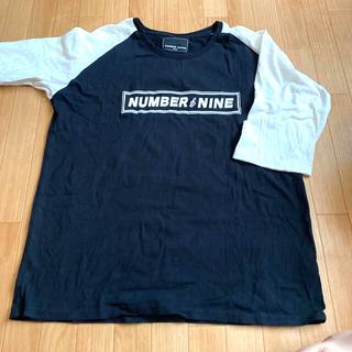 NUMBER (N)INE - 値下げ!ナンバーナインの七部袖ラグランTシャツ、ト音記号が可愛い