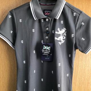 アドミラル(Admiral)のadmiral golf♡グレーポロシャツ タグ付き新品未使用品(ウエア)