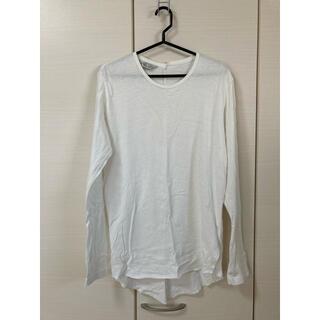アンユーズド(UNUSED)のUNUSED L/S T-shirt size1 white(Tシャツ/カットソー(七分/長袖))