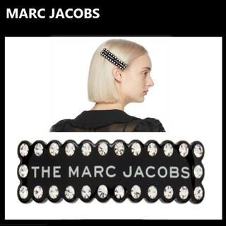 マークジェイコブス(MARC JACOBS)の【新品未使用】マークジェイコブス バレッタ 黒(バレッタ/ヘアクリップ)
