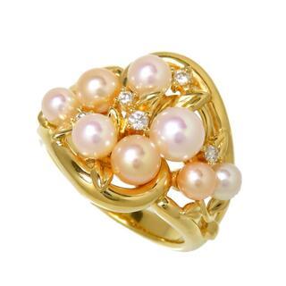 タサキ(TASAKI)のタサキ リング・指輪  K18 アコヤ真珠(ベビーパール) 約3.(リング(指輪))