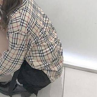 ディーホリック(dholic)のバーバリーチェック シャツ チェックシャツ(Tシャツ(長袖/七分))