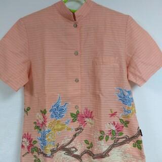 マンゴ(MANGO)のかりゆしウェア mango Lサイズ(シャツ/ブラウス(半袖/袖なし))