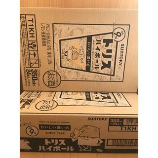 【送料無料】トリスハイボール おいしい濃いめ 350ml 2ケース 48本