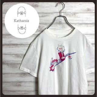 ナイキ(NIKE)の【入手困難】ナイキ スウォッシュ センターロゴ ホワイト ビックサイズ Tシャツ(Tシャツ/カットソー(半袖/袖なし))