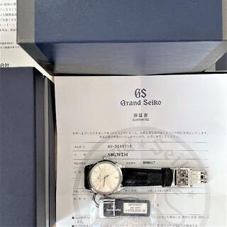 グランドセイコー(Grand Seiko)の美品 GS グランドセイコー メカニカルモデル SBGW231(腕時計(アナログ))