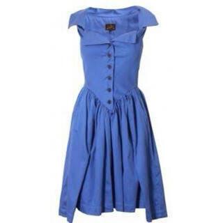 ヴィヴィアンウエストウッド(Vivienne Westwood)のvivienne westwood Monday dress ワンピース ドレス(ひざ丈ワンピース)