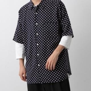 レイジブルー(RAGEBLUE)の新品 RAGEBLUE シャツ トップス ブラウス ワイド 半袖(シャツ/ブラウス(半袖/袖なし))