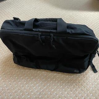 ユニクロ(UNIQLO)のユニクロ 3wayバッグ ブラック(ビジネスバッグ)